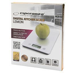 Waga kuchenna Lemon EKS002W biała
