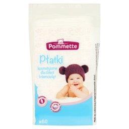 Płatki kosmetyczne dla dzieci i niemowląt 60 sztuk