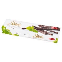 Sticks Paluszki z czekolady deserowej o smaku miętow...