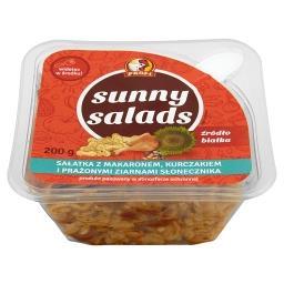 Sunny Salads Sałatka z makaronem kurczakiem i prażonymi ziarnami słonecznika