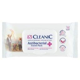 Antibacterial Travel Pack Chusteczki odświeżające 40 sztuk