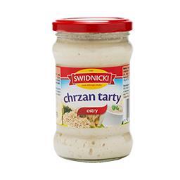 Chrzan tarty ostry