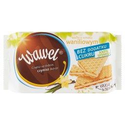 Wafle o smaku waniliowym bez dodatku cukru 110 g e