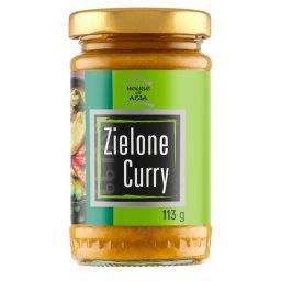 Pasta zielone curry