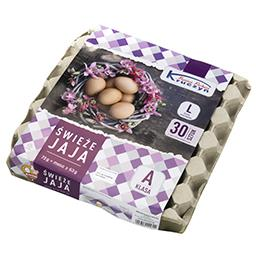 Jaja świeże L 30 sztuk