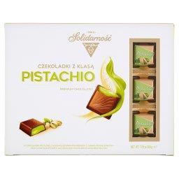 Czekoladki z Klasą Pistachio Czekoladki mleczne