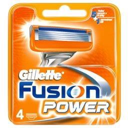 Fusion Power Ostrza wymienne do maszynki do golenia, 4 sztuki