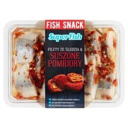 SuperFish Filety ze śledzia & suszone pomidory 200 g