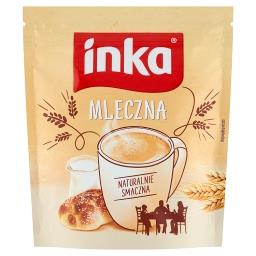 Napój na bazie kawy zbożowej z mlekiem