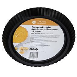 Forma do ciast z owocami 27,5 cm okrągła