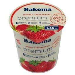 Premium Jogurt z truskawkami