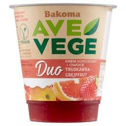 Ave Vege Duo Krem kokosowy + owoce truskawka-grejpfr...