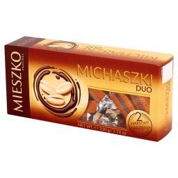Michaszki Duo Cukierki z orzeszkami arachidowymi w czekoladzie