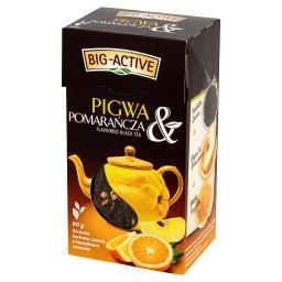 Pigwa & Pomarańcza Liściasta herbata czarna z kawałk...