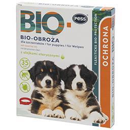 Bio obroża z olejkami eterycznymi dla szczeniąt 35 c...