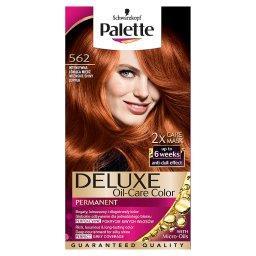Deluxe Oil-Care Color Farba do włosów Intensywna lśniąca miedź 562
