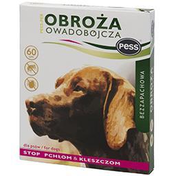 Obroża na pchły i kleszcze bezzapachowa dla psów 60 ...