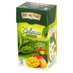 Zielona herbata z opuncją i mango 34 g (20 torebek)
