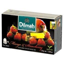 Mango & Strawberry Cejlońska czarna herbata 30 g (20...