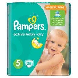 Active Baby-Dry rozmiar 5 (Junior), 28 pieluszek