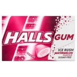 Gum Ice Rush Bezcukrowa guma do żucia o smaku arbuza