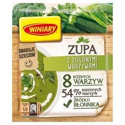 Zupa z zielonymi warzywami
