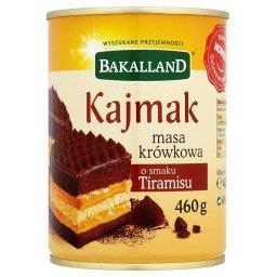 Kajmak masa krówkowa o smaku tiramisu