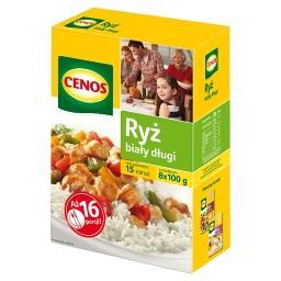 Ryż biały długi 800 g (8 torebek)