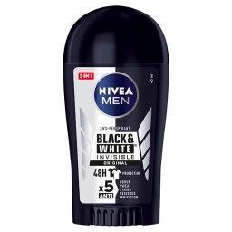 MEN Black&White Invisible Original Antyperspirant w sztyfcie