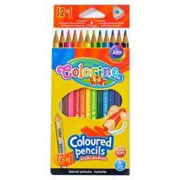 Kids Kredki ołówkowe trójkątne 13 kolorów