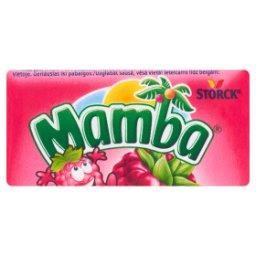 Gumy rozpuszczalne o smaku malinowym  (6 sztuk)