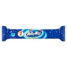 Baton z białym nadzieniem oblany czekoladą 43 g (2 x 21,5 g)