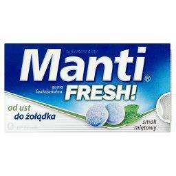 Fresh! Guma funkcjonalna smak miętowy Suplement diety 10 sztuk