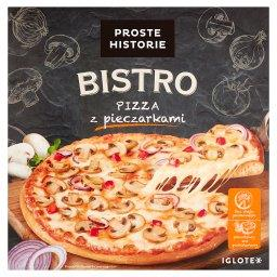 Bistro Pizza z pieczarkami