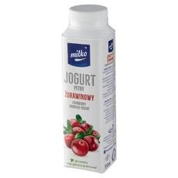 Jogurt pitny żurawinowy