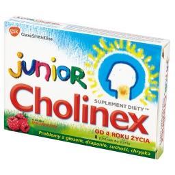 Junior o smaku malinowym Pastylki do ssania od 4 rok...