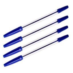 Długopis niebieski 4szt.