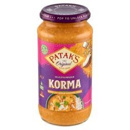 Korma Kremowy sos z wiórkami kokosowymi i cebulą