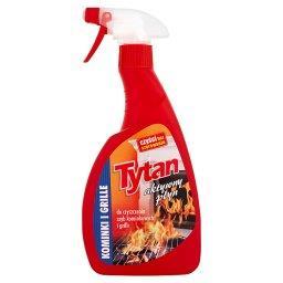 Aktywny płyn do czyszczenia szyb kominkowych i grill...