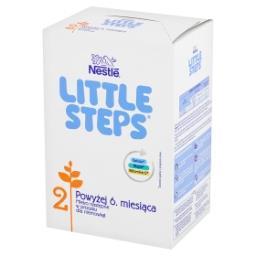 LITTLE STEPS 2 Mleko następne w proszku dla niemowlą...