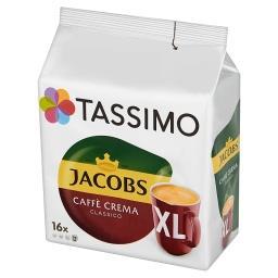 Jacobs Caffè Crema Classico XL Kawa mielona 132,8 g (16 kapsułek)