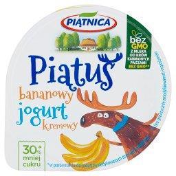 Piątuś Jogurt kremowy bananowy