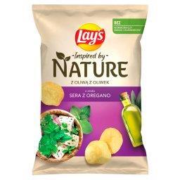 Inspired by Nature Chipsy ziemniaczane o smaku sera ...