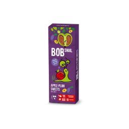 Przekąska jabłkowo-śliwkowa z owoców bez dodatku cukru 30 g