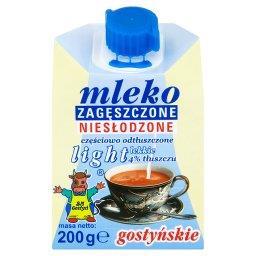 Mleko gostyńskie zagęszczone niesłodzone light 4%