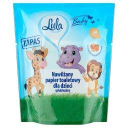 Baby Nawilżany papier toaletowy dla dzieci zapas o z...
