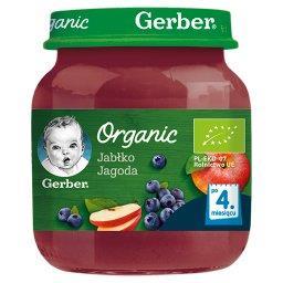 Jabłko jagoda dla niemowląt po 4. miesiącu