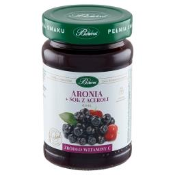 Dżem aronia + sok z aceroli