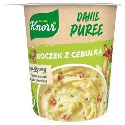 Danie Puree boczek z cebulką