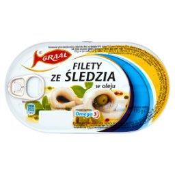 Filety ze śledzia w oleju